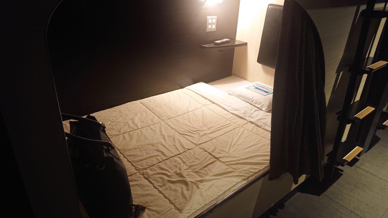 ソーレのベッドルーム