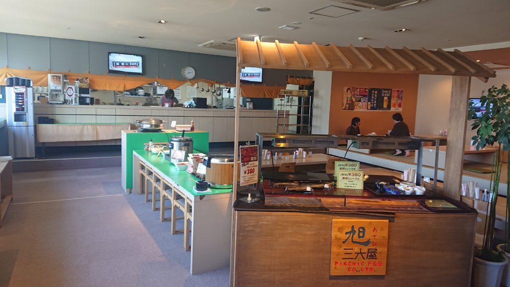 ソーレの朝食コーナー