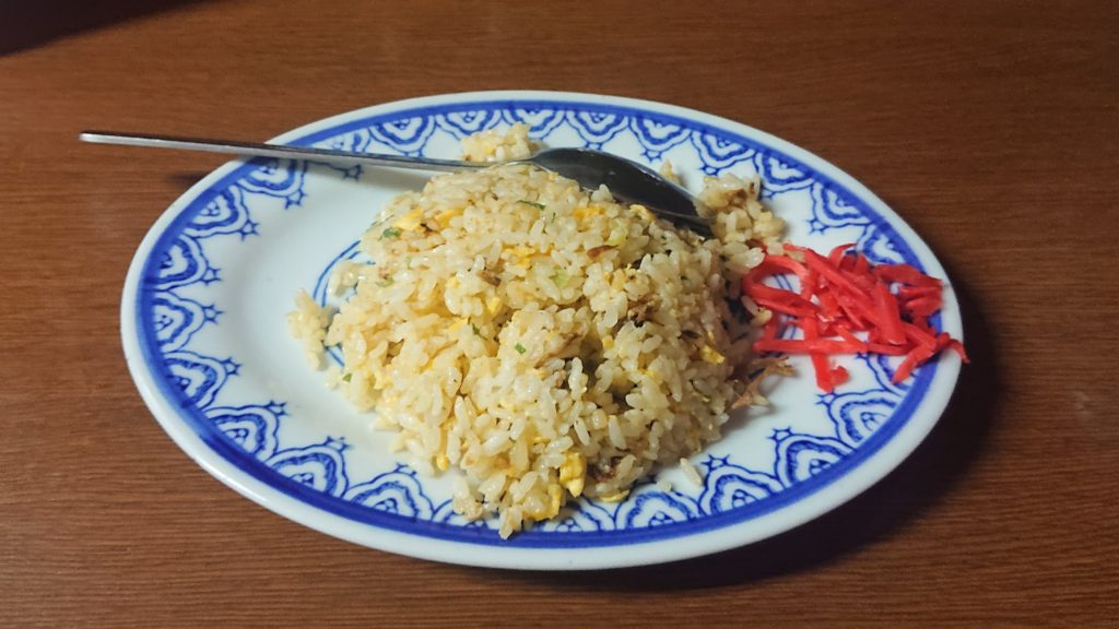 中華厨房肴やTOSHIのミニチャーハン