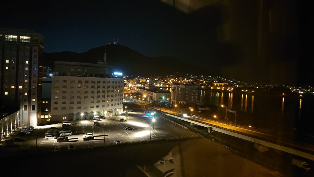 センチュリーマリーナの部屋からの景色
