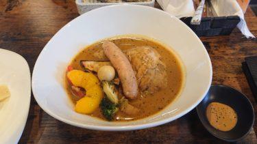【LOGO65】菜々兵衛コラボの海老味噌ビスクがサービス!こだわりの濃厚鶏白湯で一人スープカレー