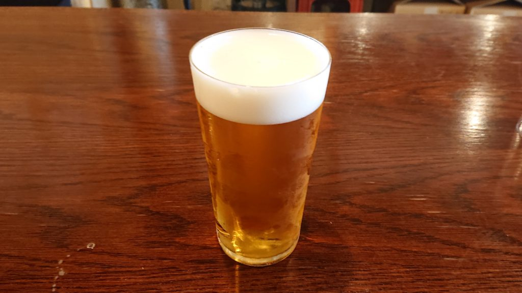 月輪のビール