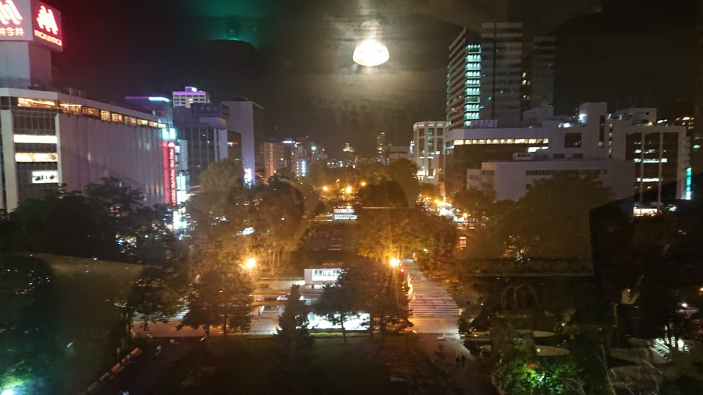 ニュー三幸の夜景