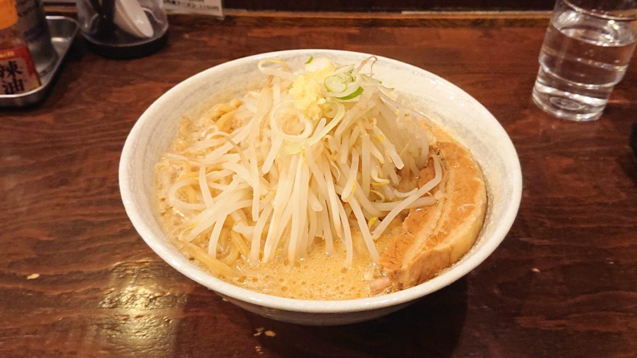 ロクゴーガッツのガッツらーめん味噌