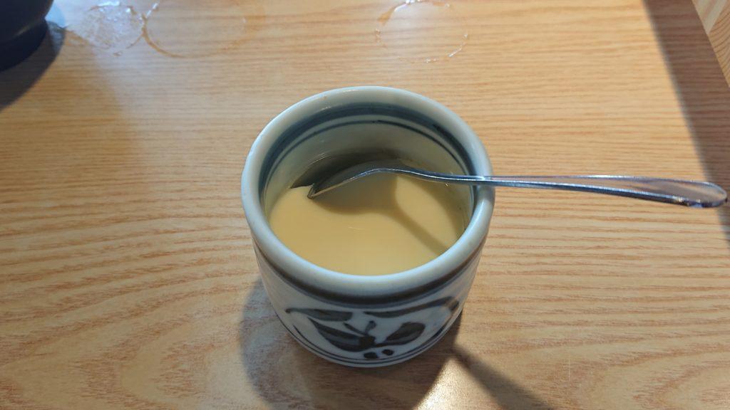大船鮨の茶碗蒸し