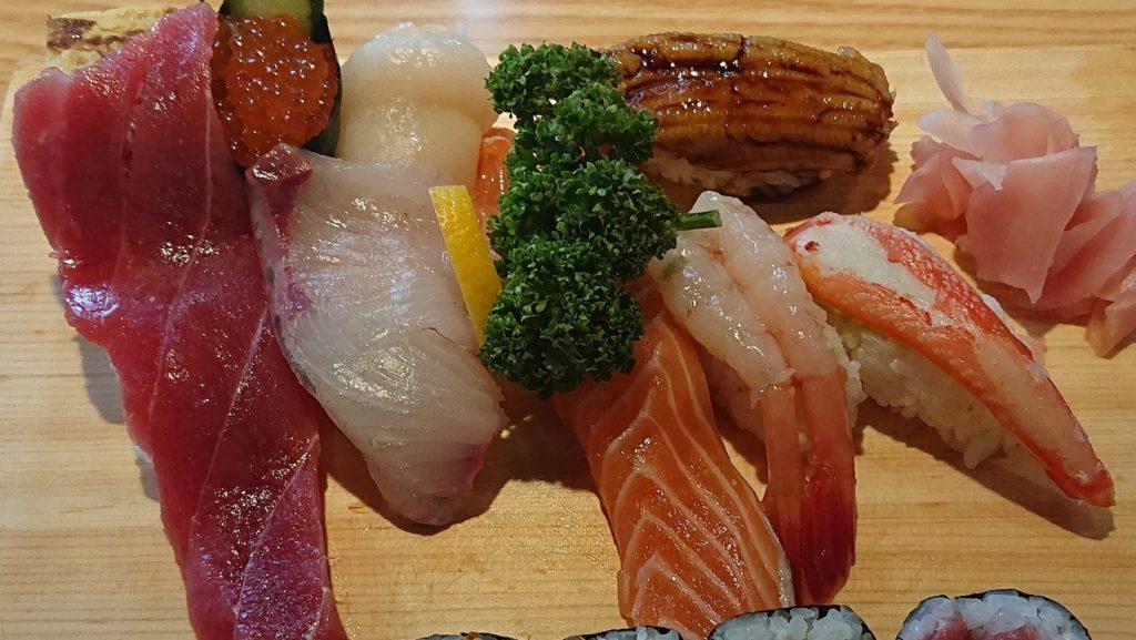 大船鮨のランチ寿司拡大