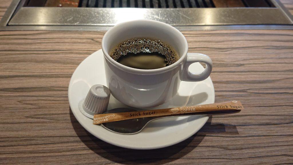 さんか亭のコーヒー