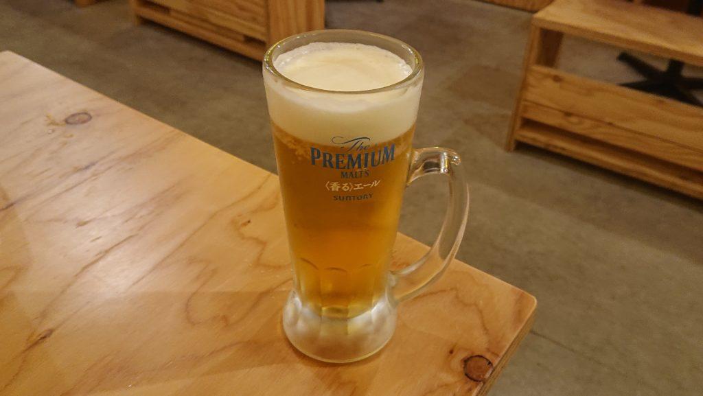 大衆酒場036のビール