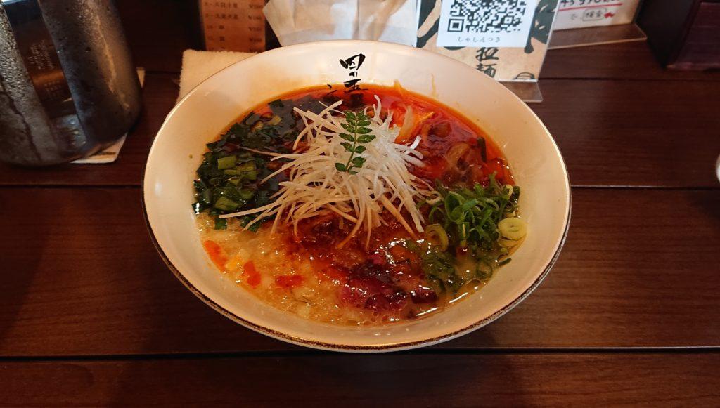 四の五の言わずの龍虎青山椒麺