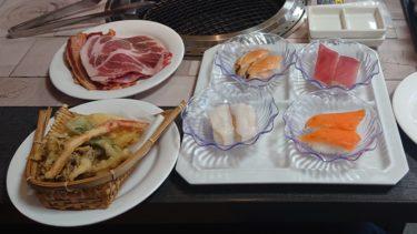 【アサヒビール園 ロイン亭】珍しいマトンロールも!ランチは惣菜も含めた焼肉や寿司がリーズナブルな白石の人気店で一人食べ放題