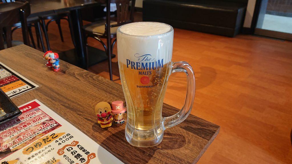 蛸屋本店のビール